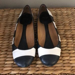 Kate spade leather flats